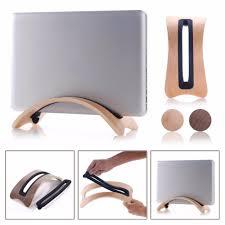 Macbook Pro Desk Mount Aliexpress Com Buy Luxury Real Wooden Stand Dock Arc Shape