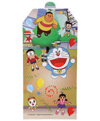 Buy Invitation Cards Doraemon Invitation Card Multicolour Pack Of 10 Online In India