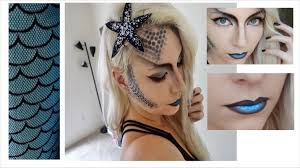 Halloween Makeup Mermaid Dark Mermaid Halloween Costume Youtube