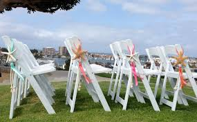 Chair Decorations 4 Beach Wedding Decor Starfish Chair Decorations With Satin And