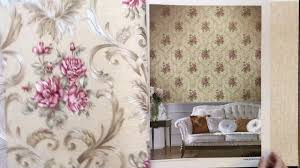 a28 9 beautiful flower design non woven pvc wallpaper for home