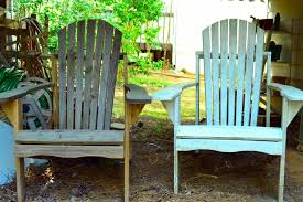 Used Adirondack Chairs Painted Outdoor Furniture