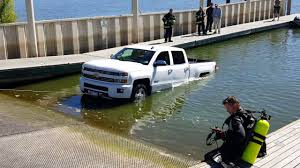 Ford F150 Truck Ramps - brand new silverado in water at ramp total loss youtube