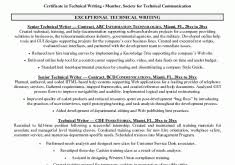 Technical Writer Resume Sample by Download Ministry Resume Templates Haadyaooverbayresort Com