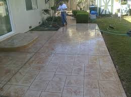 Dyed Concrete Patio by Dyed Concrete Patio Stamped Concrete Patio Inspiring Project On