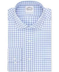 eagle non iron yacht club blue stripe dress shirt dress shirts