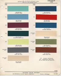official color code paint thread pics needed trifive com 1955