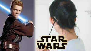 padawan braid man bun star wars hairstyle tutorial youtube