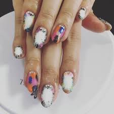 14 acrylic nail designs for spring best summer acrylic nail art