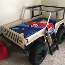 Jeep Bunk Bed Jeep Bed Plans Twin Size Car Bed Car Bed Bed Plans And Jeeps