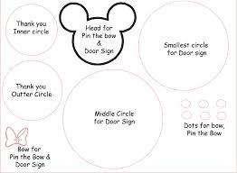 minnie mouse template premium invitation template design by team
