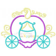 pumpkin carriage pumpkin carriage applique design
