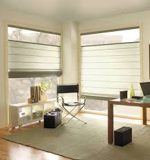 Images Of Roman Shades - levolor roman shades in variety of designer textures