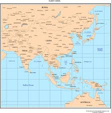 map of asia countries and cities maps of asia