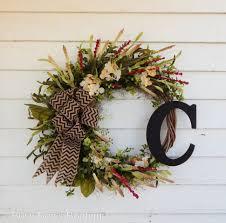 backyards joyful handmade spring wreath ideas decorate your