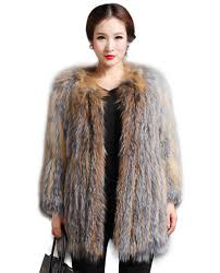 real fur coats u0026 jackets women u0027s knitted fox fur coat 593