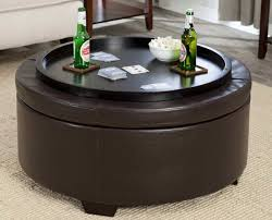 Diy Ottoman From Coffee Table by Ottomans Large Wood Tray Ottoman Tray Round Ottoman Wrap Tray