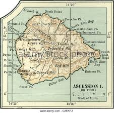 ascension islands map georgetown ascension island stock photos georgetown ascension