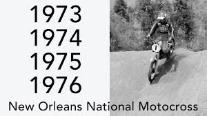 ama national motocross motocross new orleans ama national motocross highlights 1973