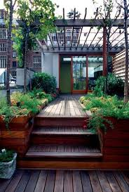 sloped modern backyard deck designs outdoor backyard deck