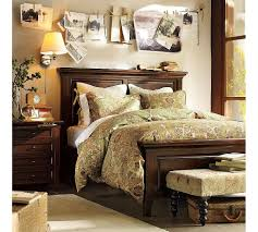 wall behind a bed is a perfect display for things you got from