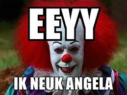Pennywise The Clown Meme - eeyy ik neuk angela pennywise the clown meme generator