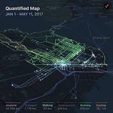 Walking Map App Quantified Map U2014 Ludovic Landry