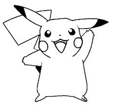 pikachu to color coloring beach screensavers com