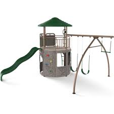 lifetime playground equipment 90440 adventure tower play set in