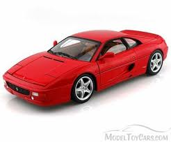 toy ferrari model cars ferrari f355 berlinetta red mattel wheels bly57 1 18