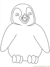 printable coloring pages penguin coloring