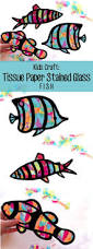 Kids Stained Glass Craft - kids craft fish stained glass suncatcher kit using by hellosprout