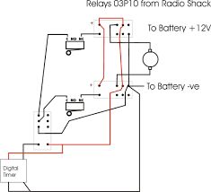 how do i wire a 12v dc motor to micro switches relay digital and