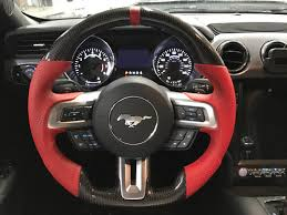 steering wheel mustang i 5 performance 2015 2017 ford mustang carbon fiber performance