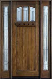 Solid Wooden Exterior Doors Front Doors Real Wood Front Doors Solid Wood Exterior Door For