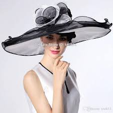 wholesale white kentucky derby hats for tea party dresses ladies