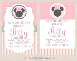 free minnie mouse party printables charming