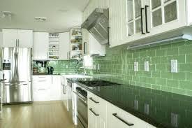 green subway tile kitchen backsplash green tile backsplash kitchen green subway tile white cabinets blue