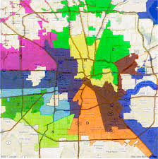 houston map districts houston city council redistricting and cohen burn