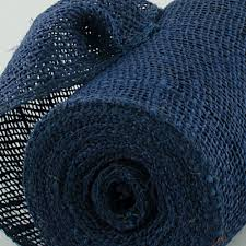 navy blue wired ribbon 6 burlap ribbon navy blue 10 yards jrh06 33 craftoutlet