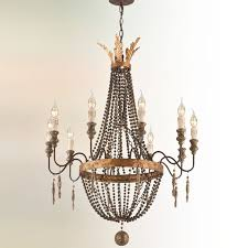 french luxe basket chandelier 10 light shades of light