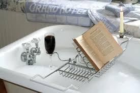 marvelous bathtub tray design ideas to enjoy every moment