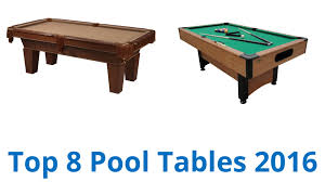 8 best pool tables 2016 youtube