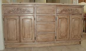 painting wall mounted oak kitchen cabinet with brown color kitchen