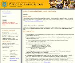 high school applications online santo tomas e service providers