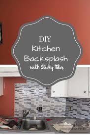 tile backsplash adhesive mat the 25 best sticky tile ideas on pinterest best kitchen sinks