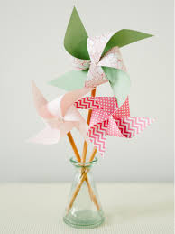 kids u0027 craft easy pencil pinwheel hgtv