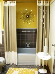 small yellow small bathroom paint idea with bathroom floor tile