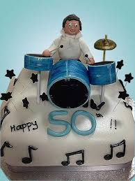 50th Birthday Cake Racey Cakes