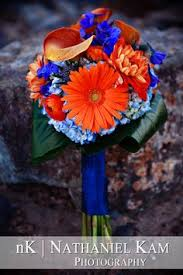 wedding flowers queanbeyan i had so much designing this blue orange and bouquet